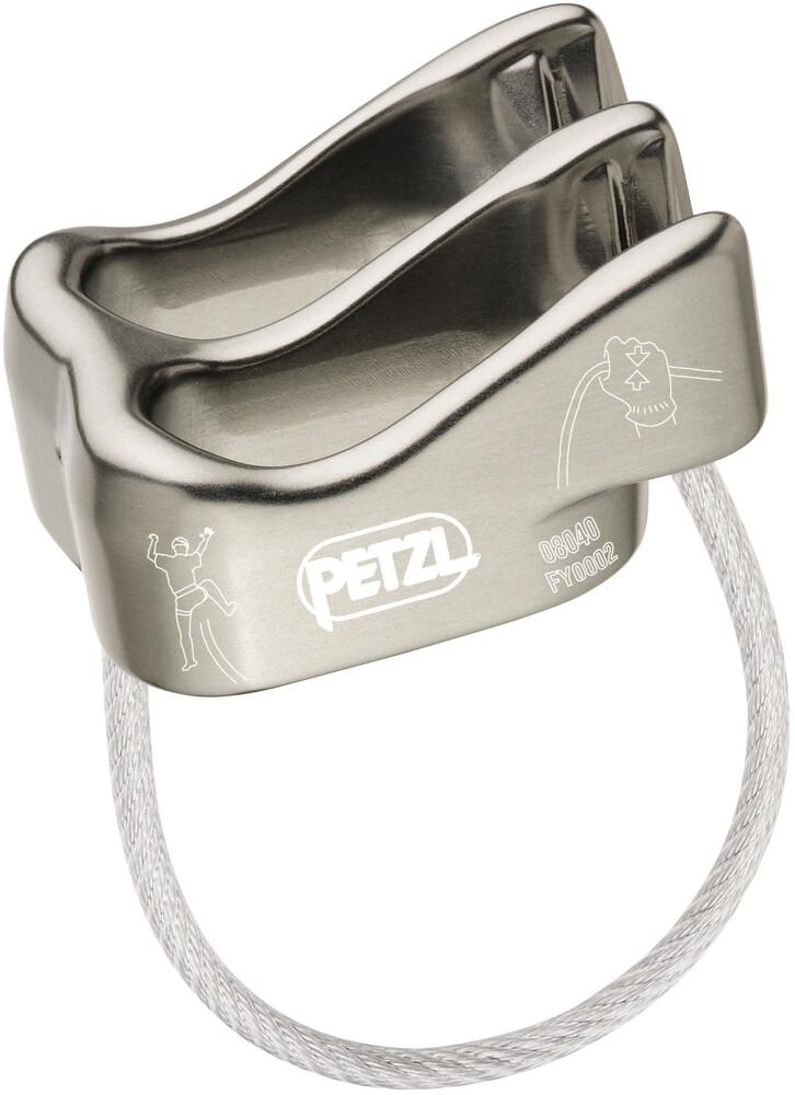 Klettergurt Corax Petzl : Petzl kit corax klettergurt grau campz